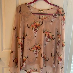 Show Me Your Mumu Top! Size Small